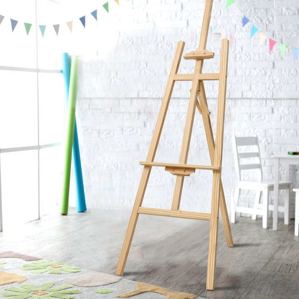 Artiss Pine Wood Easel Art Display Painting Shop Tripod Stand Wedding 175cm