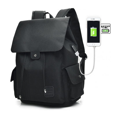 Tech2Go Laptop Bag with Charging Port - Black