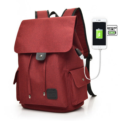 Tech2Go Laptop Bag with Charging Port - Red