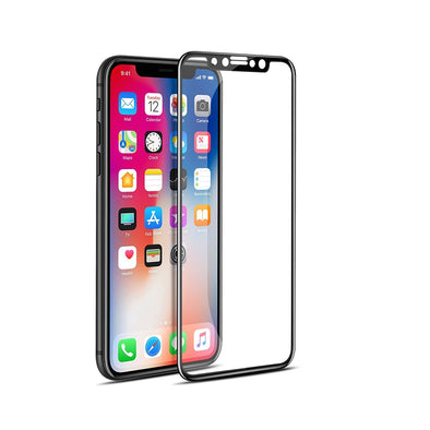 Premium iPhone X Full-Screen Protector - Black edge