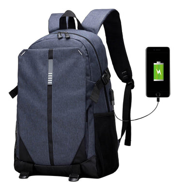 Ultra Smart TECH2GO Backpack with Charging Port - Blue