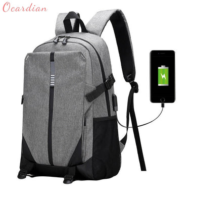 Ultra Smart TECH2GO Backpack with Charging Port - Grey
