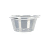 100 Pcs 1000ml Take Away Food Plastic Containers Boxes Base and Lids Bulk Pack