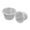 100 Pcs 750ml Take Away Food Plastic Containers Boxes Base and Lids Bulk Pack