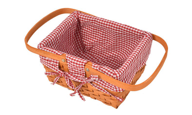 Deluxe Picnic Basket Indoor Outdoor Baskets Corporate Blanket Park Trip