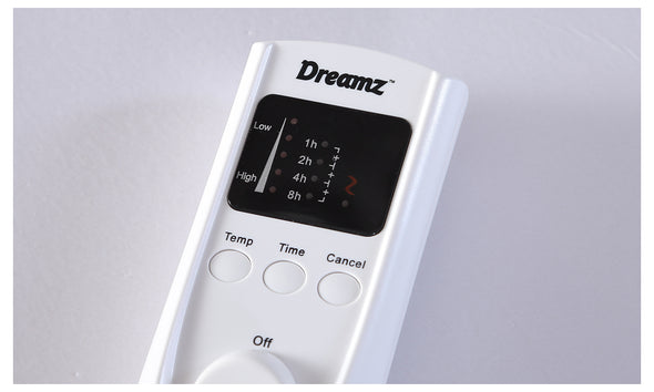DreamZ 450 GSM Fleecy Electric Blanket Heated Warm Winter Fitted King Size