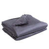 DreamZ Grey 2kgs Bamboo Fiber Weighted Blanket