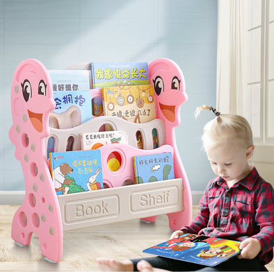 Bo Peep Kids Bookshelf Children Bookcase Pink