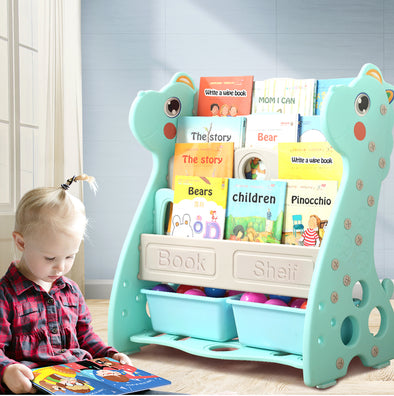 Bo Peep 4 In 1 Blue Kids Bookshelf