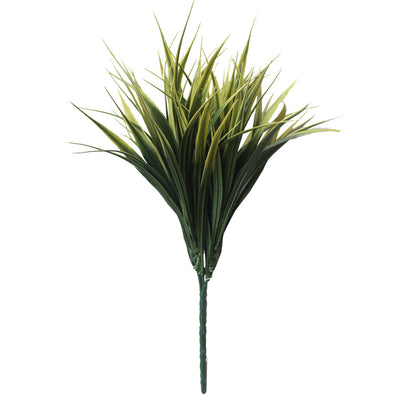 Yellow Tipped Grass Stem UV Resistant 35cm