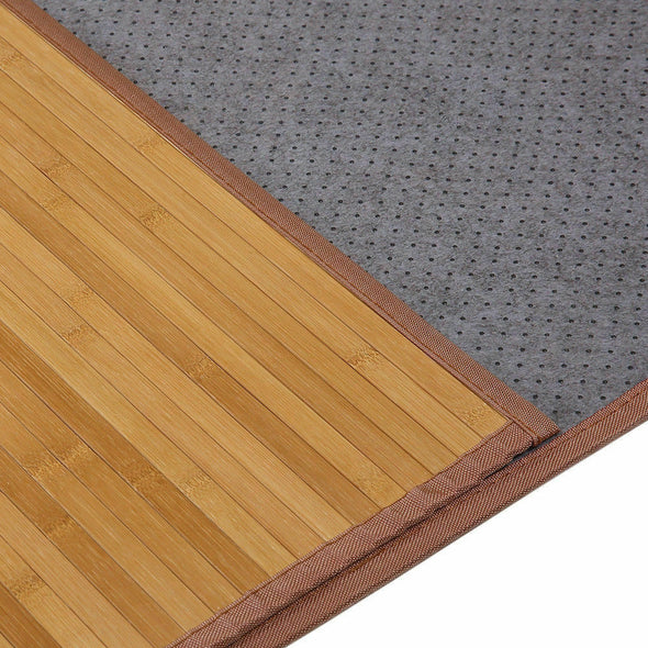 Villager Bamboo Rug Floor Mat Kitchen Bathroom Office Balcony Indoor Outdoor