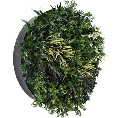 UV Green Fields 80cm Green Wall Disc (Black)