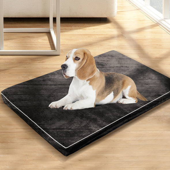 Pawz 5CM Memory Foam Orthopaedic Pet Bed Dog Puppy Mat Cat Pad Cushion M