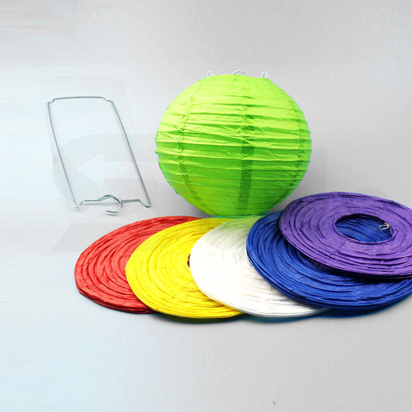"12"""" Paper Lanterns for Wedding Party Festival Decoration - Mix and Match Colours"