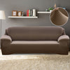 Easy Fit Stretch Couch Sofa Slipcovers Protectors Covers 3 Seater Taupe
