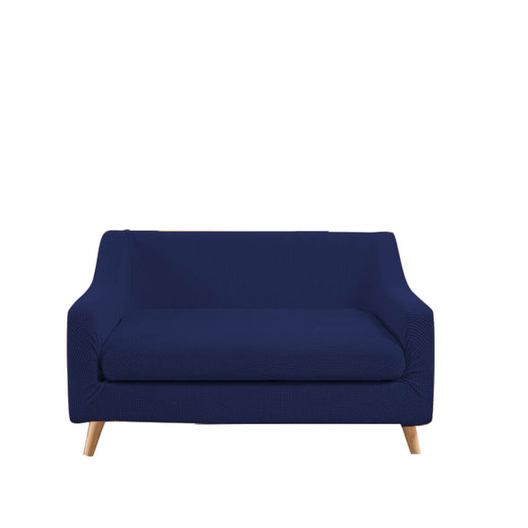 DreamZ Couch Sofa Seat Covers Stretch Protectors Slipcovers 2 Seater Navy