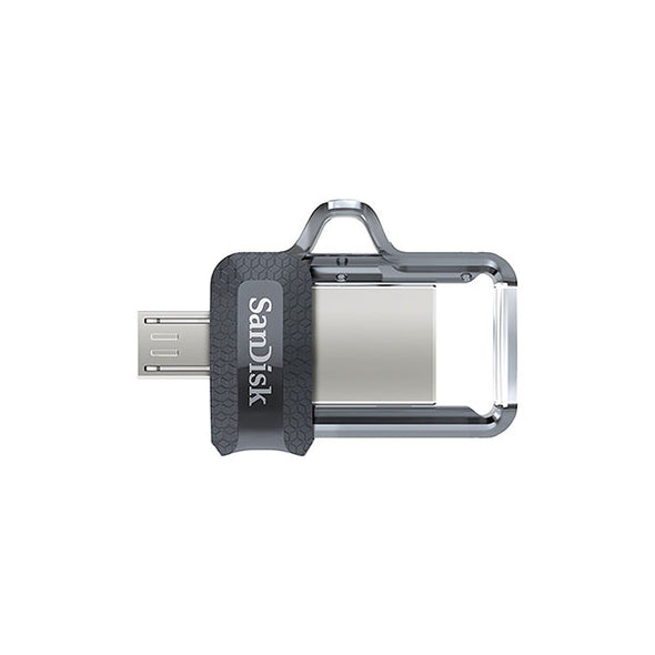 SANDISK OTG ULTRA DUAL USB DRIVE 3.0 FOR ANDRIOD PHONES 128GB 150MB/S  SDDD3-128G