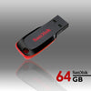 Sandisk Cruzer Blade CZ50 64GB USB Flash Drive