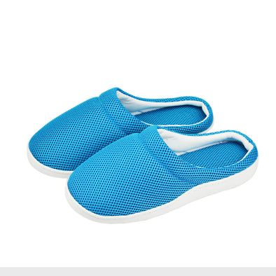 Summer Women Men Bamboo Cooling Gel Slippers Anti-fatigue Sandals Shoes Size M
