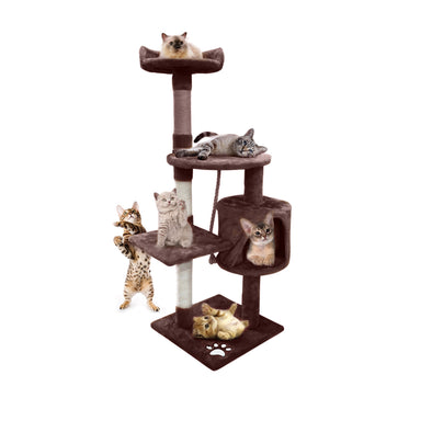 PaWz 1.1M Cat Scratching Post Tree Gym House Condo Furniture Scratcher Tower