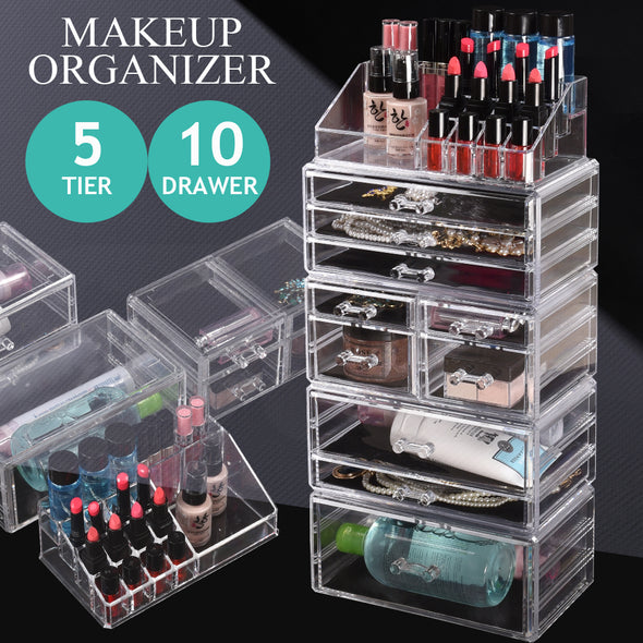 Makeup Organizer & Jewelry Box