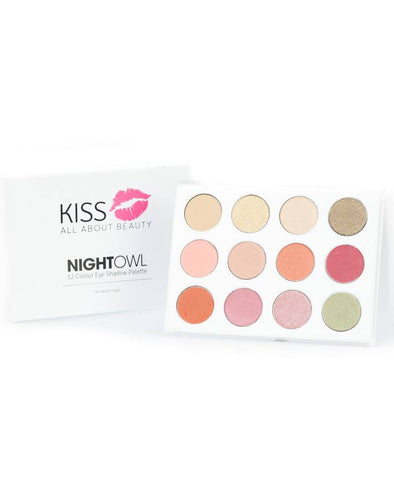 Night Owl 12 Colour Eyeshadow Palette