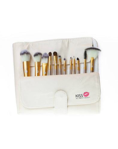 Cream Gold Brush Set