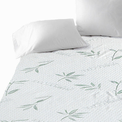 DreamZ King Single Fully Fitted Waterproof Breathable Bamboo Mattress Protector
