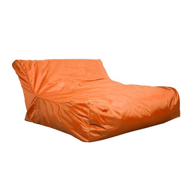 Swimming Pool Bean Bag Lounge Chair Beanbag Cover Lazychair Adult Sofa Orange