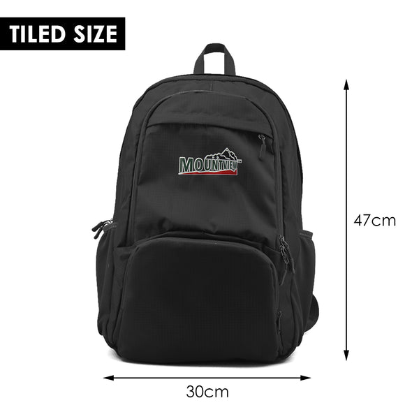 Mountview Waterproof Backpack School Bag Travel Satchel Laptop Bag Rucksack