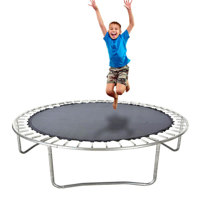 8 FT Kids Trampoline Pad Replacement Mat Reinforced Outdoor Round Spring Cover