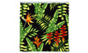 180x200cm Palm Tree Print Waterproof Bathroom Shower Crutain with 12 Hooks