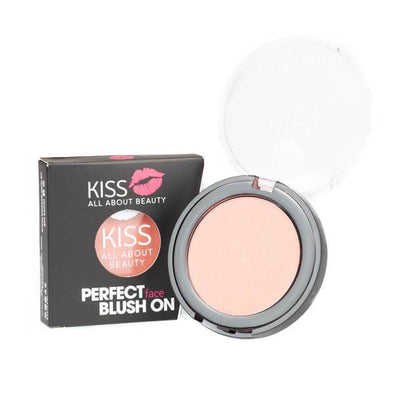 Kiss Perfect Face Blush On - 05 Graceful Light Yellow With Gold Pearl