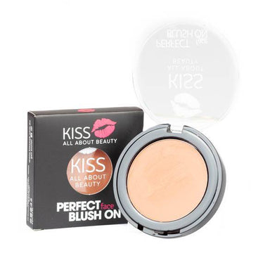 Kiss Perfect Face Blush On - 06 Delighful Peach