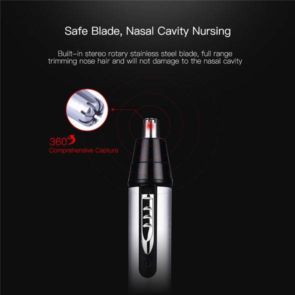 CkeyiN 3 In 1 Electric Nose Hair Trimmer