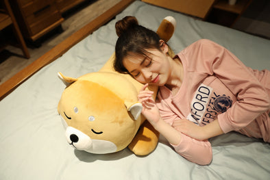 Bear Shaped Soft Pillow for Kids