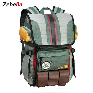 Zebella Star Wars Boba Fett School Backpack