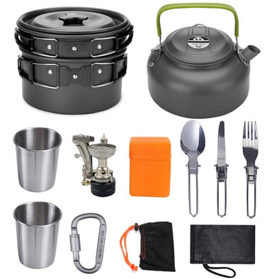 Portable Outdoor Camping Cookware Set