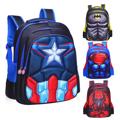 Superhero School Backpack