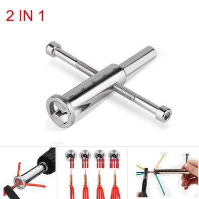 Hakkin 2 In 1 Electrical Twist Wire Tool
