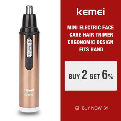 Kemei Personal Electric Nose & Ear Trimmer