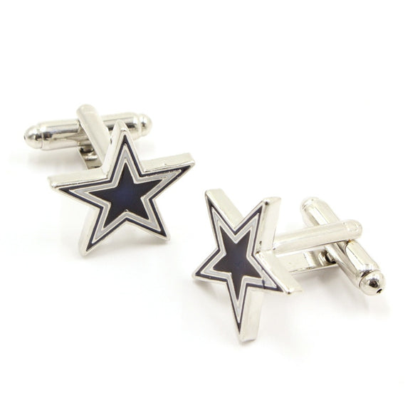 Star-Shaped Fashion Cufflinks
