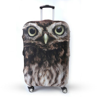 Owl-Themed Trolley Protective Cover