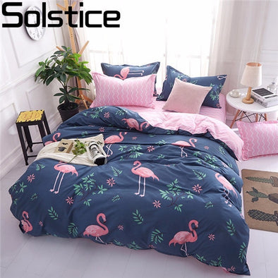 Duvet Cover Bed Sheet Pillowcases Cover Set