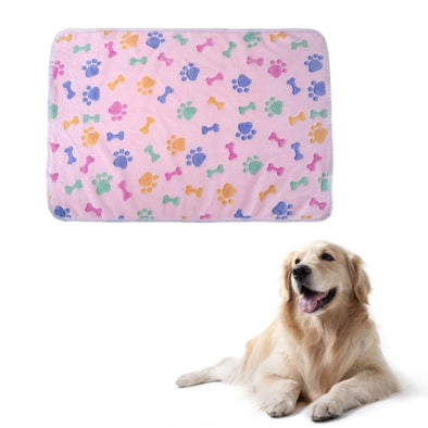 Sleeping Coral Fleece Blanket for Pets