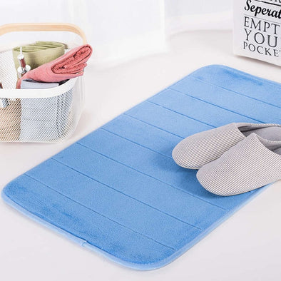 Water Absorption Rug Bathroom Mat Memory Foam Bath Mat Set Non Slip