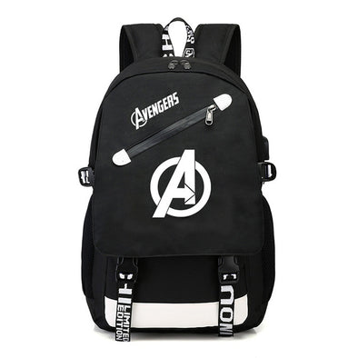 The Avengers Glow In The Dark Backpack Limited Edition