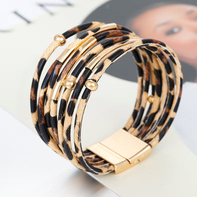AENSOA Leopard Bangle