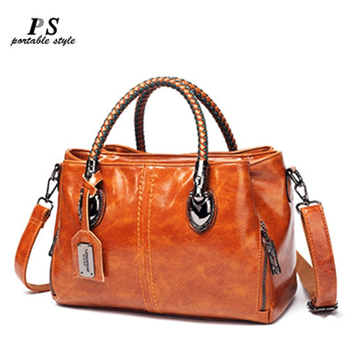 Genuine Leather Women's Messenger Bags