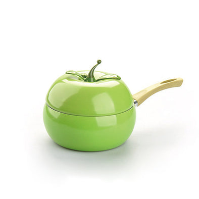 Fruit Style Frying Pan Aluminum Cookware - Apple